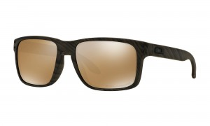 Okulary Oakley Holbrook Woodgrain Tungsten Iridium Polarized OO9102-A3