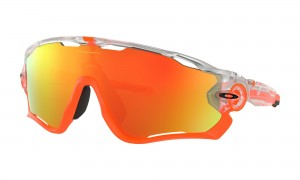 Okulary Oakley Jawbreaker Crystal Pop Clear Fire Iridium OO9290-3731