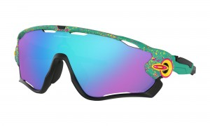 Okulary Oakley Jawbreaker SplatterFade Collection Celeste Prizm Sapphire Iridium OO9290-4131