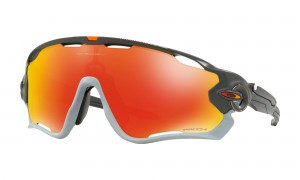 Okulary Oakley Jawbreaker Aero Flight Collection Matte Carbon Prizm Ruby OO9290-3431
