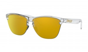 Okulary Oakley Frogskins Lite Polished Clear 24K Iridium OO9374-1363