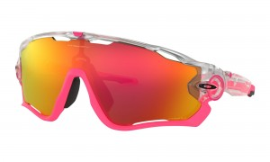 Okulary Oakley Jawbreaker Crystal Pop Matte Clear Prizm Ruby OO9290-3931