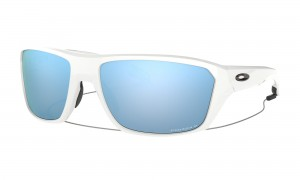 Okulary Oakley Split Shot Polished White Prizm DEEP WATER POLARIZED OO9416-0764
